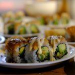 """Es gab """"Kinder-Gerichte"""" - und (natürlich?) Sushi"""