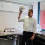 In der kalten Küche sind kurze Wege wichtig