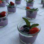 Blaubeeren Dessert