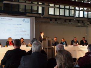 Grußwort von Katja Freese, Leiterin des Standortes der BEOS AG