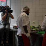 Dreharbeiten in der kalten Küche